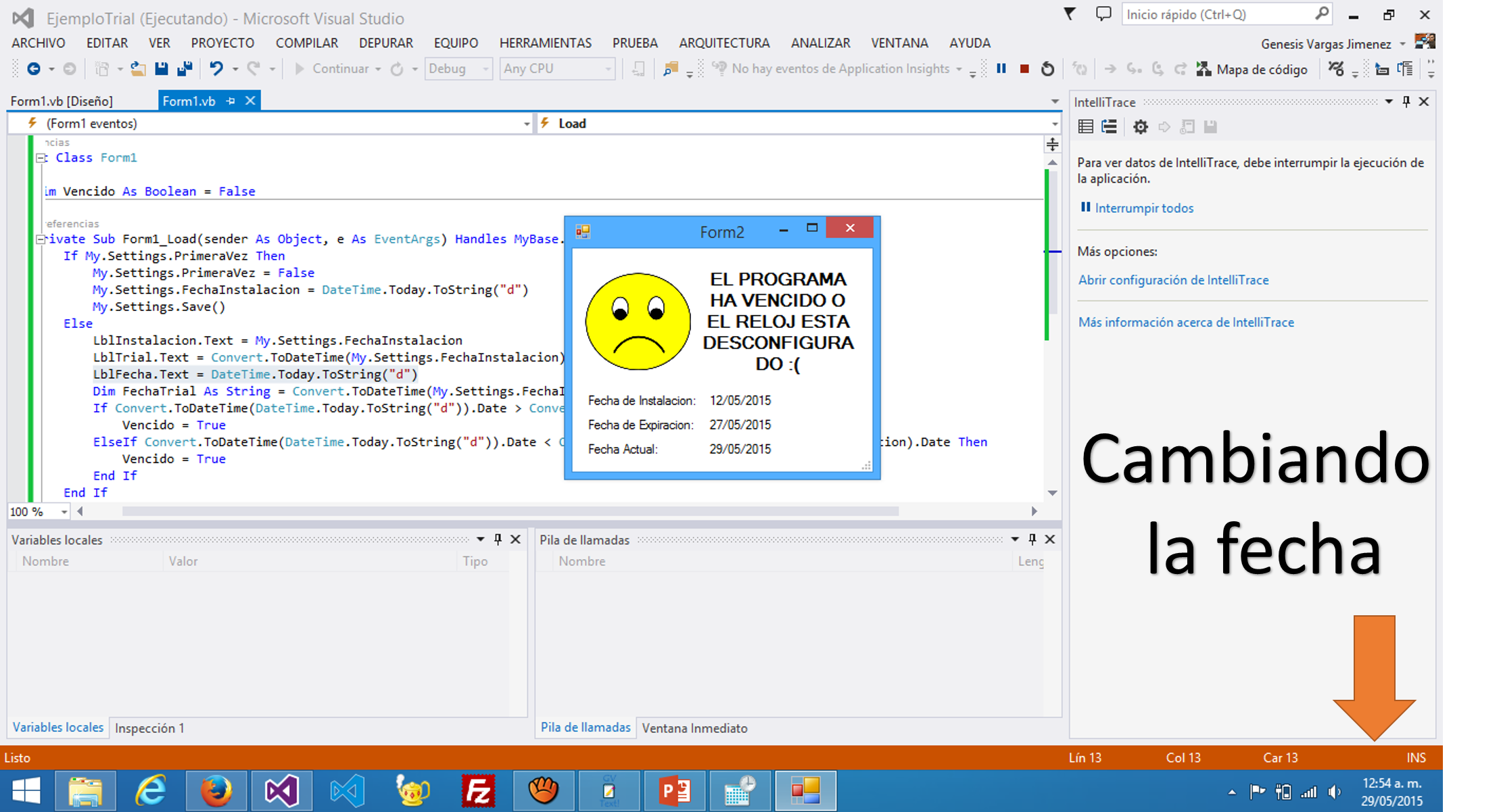 Como hacer un programa TRIAL/DEMO en Visual Basic .NET